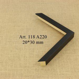 Medinis profilis 118 A220