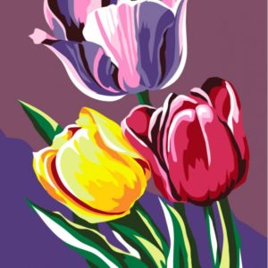 Paint by Numbers Kit Tulips T16130030
