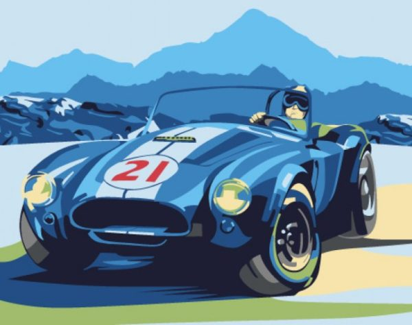 Paint by Numbers Kit Cobra T16130023