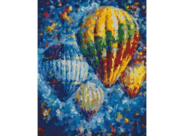 Paint by Numbers Kit Air Baloons T50400153