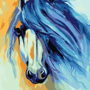 Paint by Numbers Kit Horse T50400124