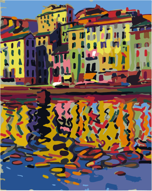 Paint by Numbers Kit Coast of Auguste Herbin T50400109