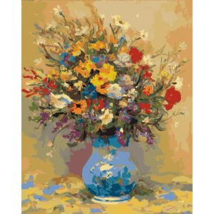 Painting by Numbers Field Flowers 50x40cm T50400011