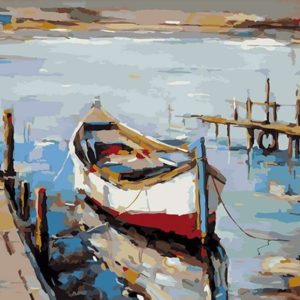 Painting by Numbers kit Fisherman Coast 50x40cm T50400258