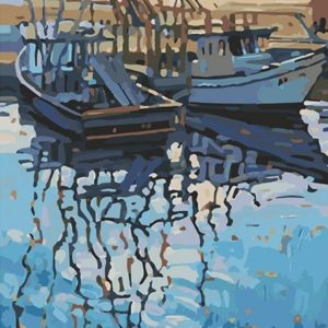 Painting by Numbers Fisherman Coast 50x40cm T50400247